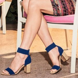 AEROSOLES high hopes open toe strap sandal blue -9